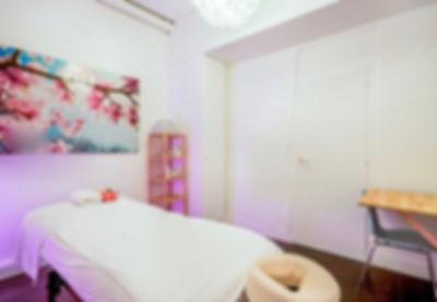 La salle de massages de l'Espace TerraNova