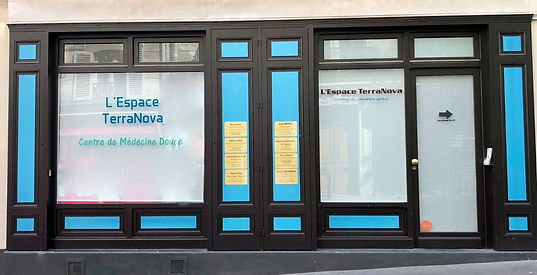 La vitrine de l'Espace TerraNova