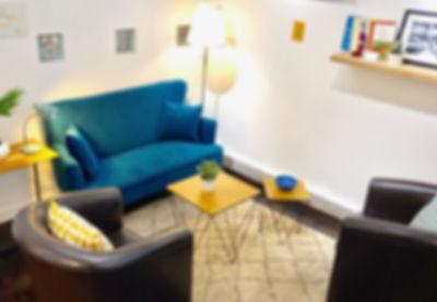Le salon de consultation de l'Espace TerraNova