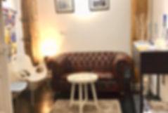 La salle d'attente de l'Espace TerraNova