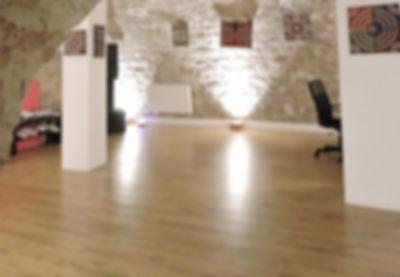 La salle voûtée de l'Espace TerraNova
