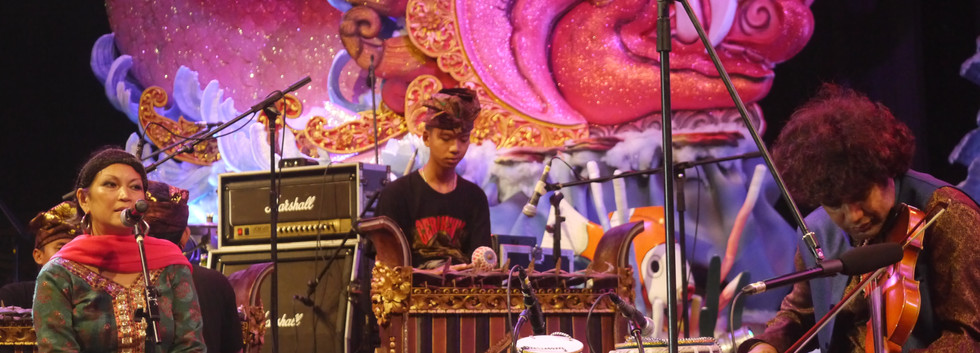 Concert met violist Johar Ali en Balinese gamelan