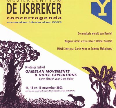 Festival Gamelan Movements & voice