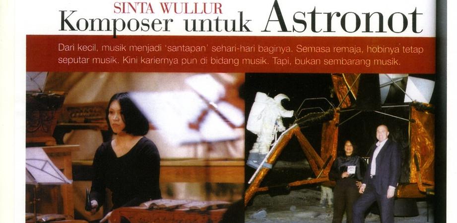 interview Indonesische magazine Dewi