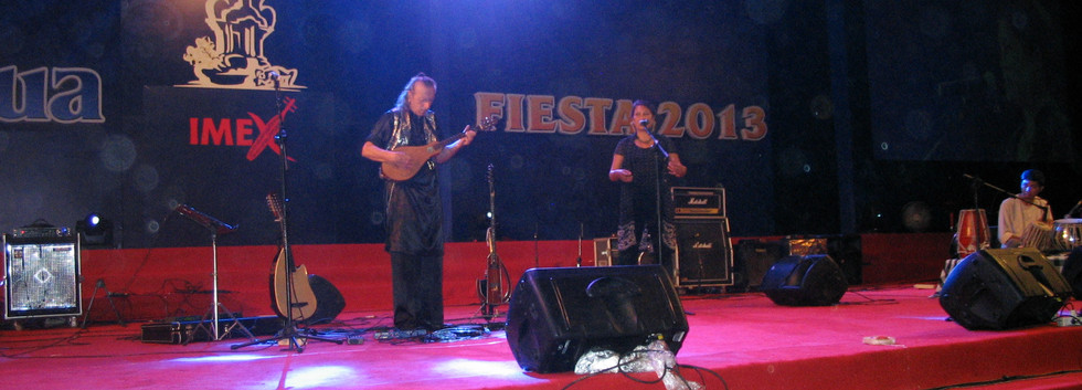 Concert op Festival Imex Nusa dua Bali