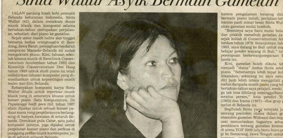 interview Indonesische krant