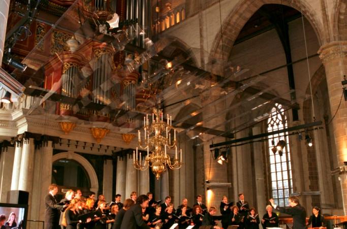 Ter ere van de Uitreiking Erasmusprijs Laurenskerk Rotterdam