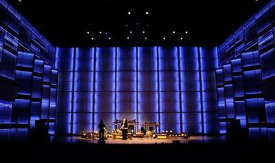 uitvoering compositie Kontjerto Tjampoer in het muziekgebouw