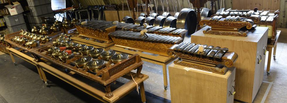 4. totale verzameling chromatische gamelan