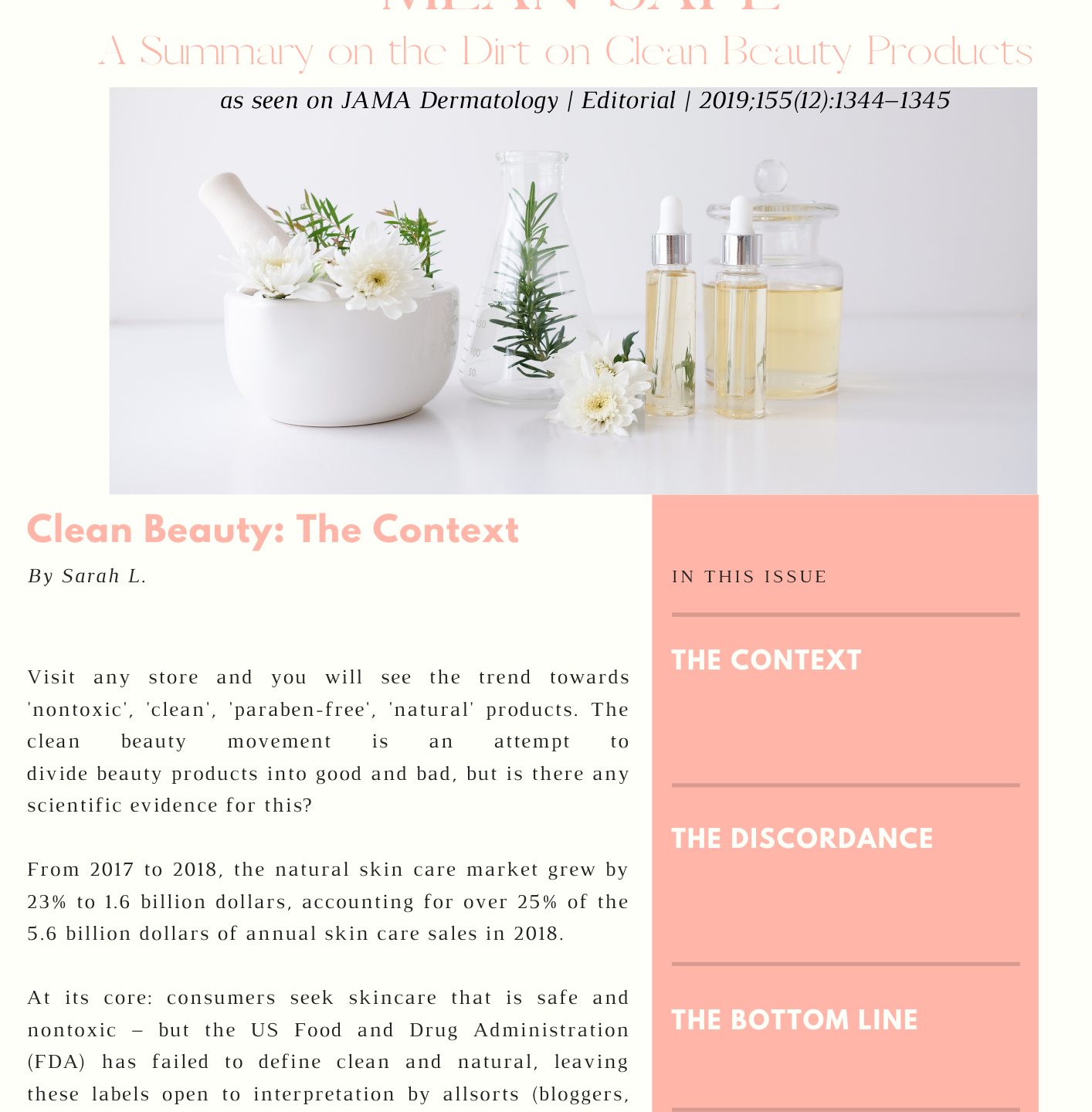 clean beauty, dermatology, dermatologists, sustainable, environmentally friendly, parabens, sulfates, safe, healthy, living, pretroleum, preservatives, fragrances, natural, skincare, skin, beauty
