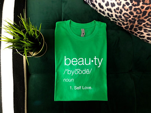ADD Beauty Green Tee
