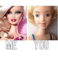 You vs. Me