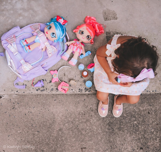 Adeline's Back to School #OOTD with Moose Toys