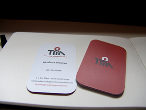 Technology Monitoring Institute Business Cards