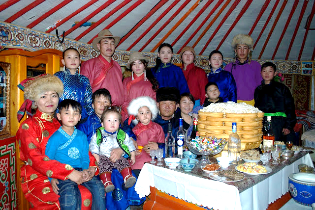 The Tsagaan Sar Festival