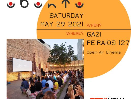 TEDxNTUA 2021: Open Air Cinema