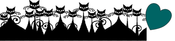 multiple cats graphic