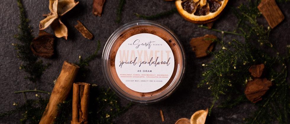 """Waxmelt """"Spiced sandalwood"""""""