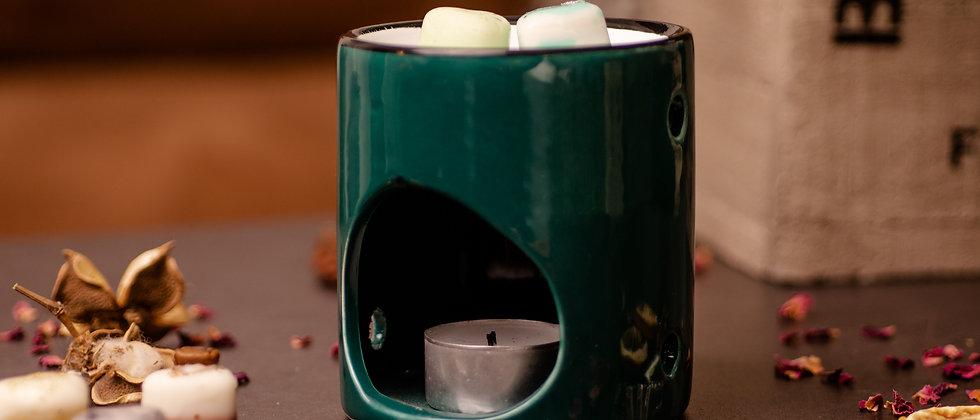 Geurbrander - Donker groen