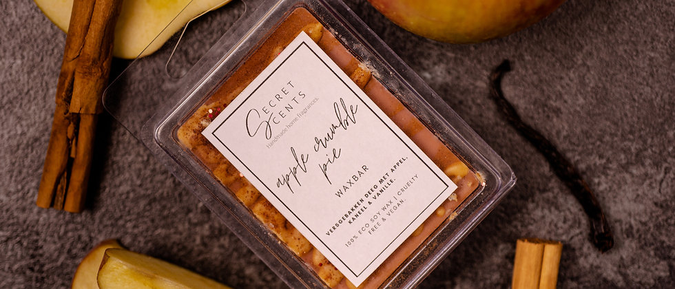 "Waxbar ""Apple crumble pie"""