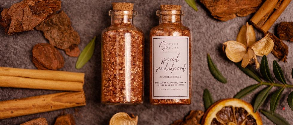 """Geurkorrels """"Spiced sandalwood"""""""