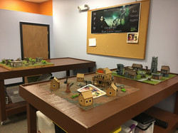 Large tables for miniature wargames