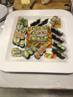 Sashimi or Sushi