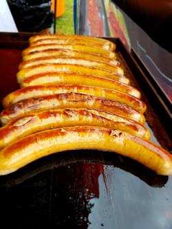 Megadog finest German sausage