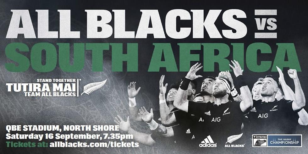 All Blacks vias South Africa
