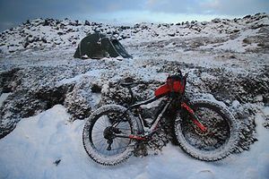 Dr Mark Hines Iceland Sonder Fat Bike