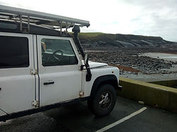 Land Rover Defender 110 Mark Hines