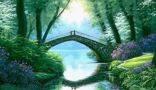 Sharing God's Love … … is the Bridge to the Other Side