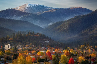 Ashland Oregon in Fall