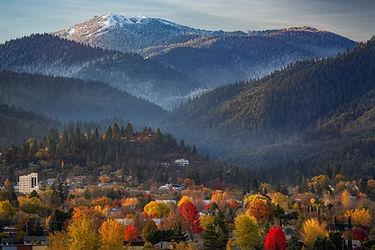 Ashland Oregon in Fall