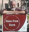 Ronnie Kaufman 2016 peace rally in Tucson, AZ