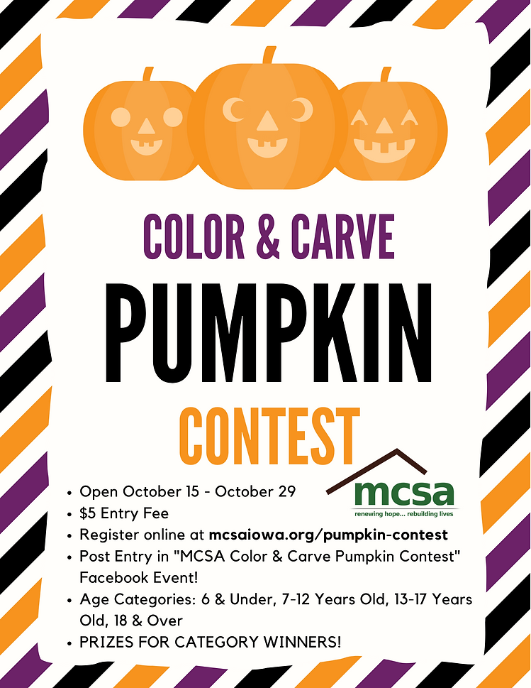 Color & Carve Pumpkin Contest Flyer (1).