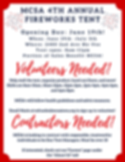 Fireworks Stand Advertisement For Websit