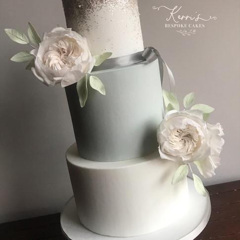 Blue sparkle wedding cake.jpg