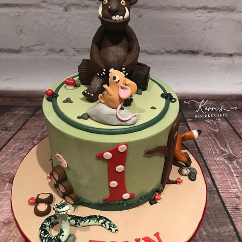 Gruffalo birthday cake