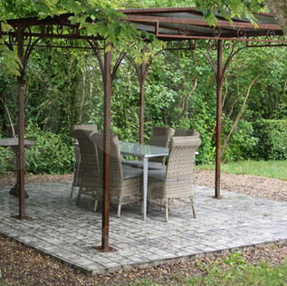 UNE TERRASSE STYLE CHAMPETRE