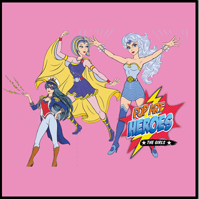 POP ART HEROES