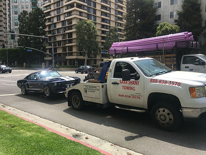 Classic Car Towing in Los Angeles