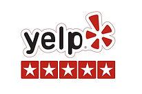5 stars yelp rating