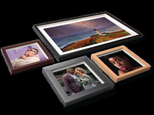 Framed Deckled Edge Prints 8x10
