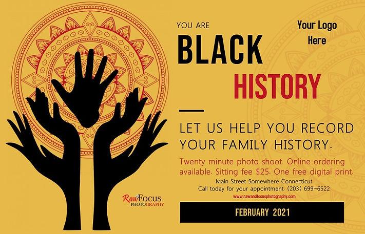 Copy of Black History Cultural Event Pos