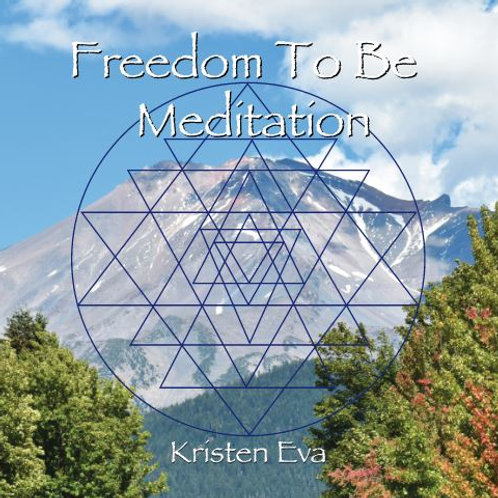 Freedom To Be Meditation CD