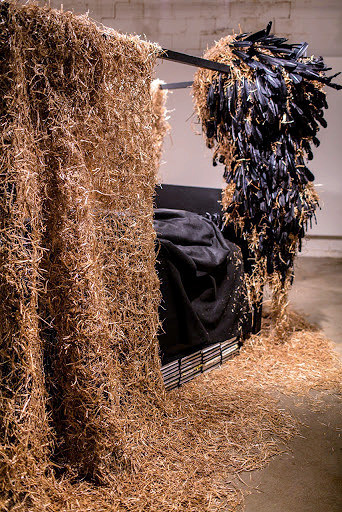 """Installation view, """"Incident,"""" at Rosalux Gallery, 2014 Krinke Rebecca"""