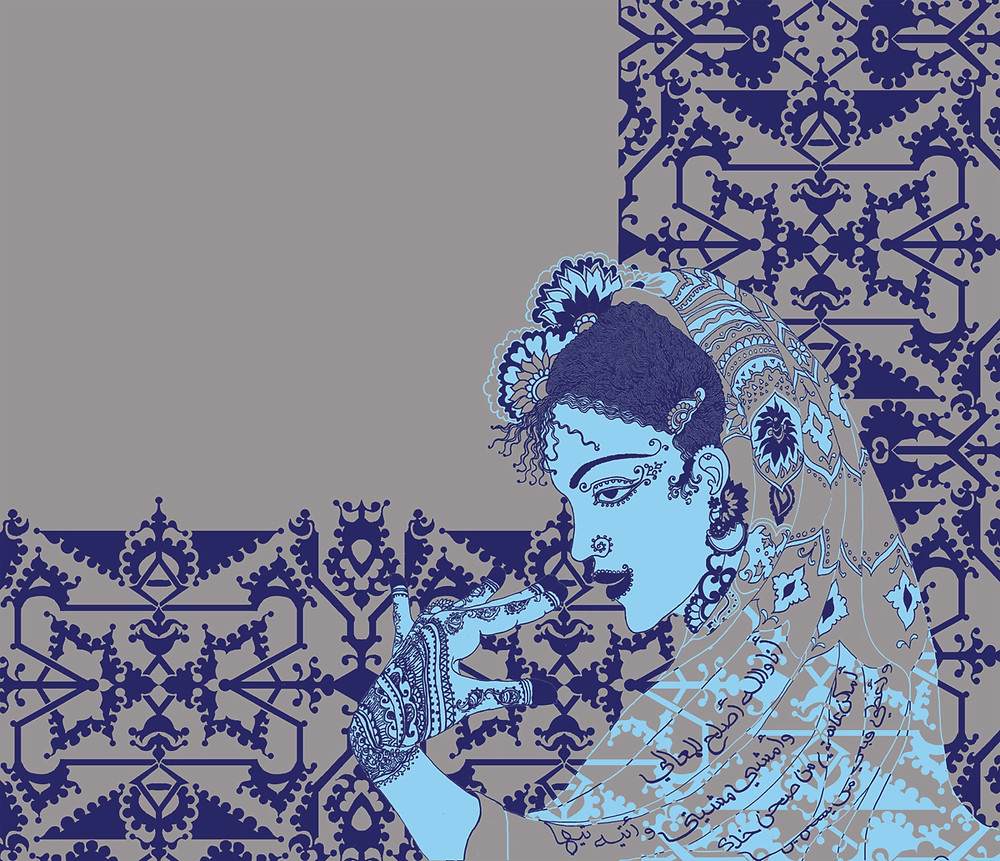 Her Days, Size Variable,  Digital Art, 2021 Hend Al-Mansour