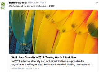 Workplace Diversity and Inclusion in 2019