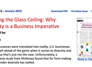 Breaking the Glass Ceiling: Why Diversity is a Business Imperative